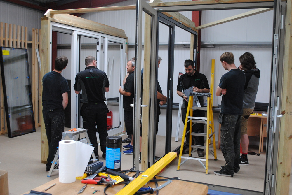 New Installation Training Facility Green Circle Windows South Hams