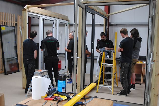 Aluminum Windows And Doors Training Pdf : News green circle windows south hams plymouth bespoke